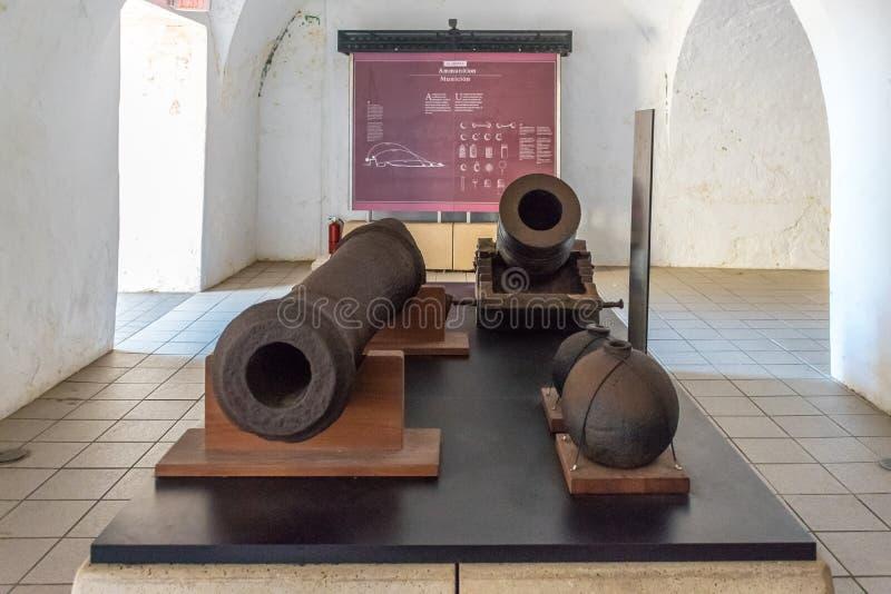 Castillo San Felipe Del Morrro, San Juan viejo, Puerto Rico imágenes de archivo libres de regalías
