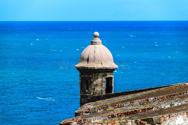 Castillo San Felipe Del Morrro, San Juan viejo, Puerto Rico imagen de archivo libre de regalías