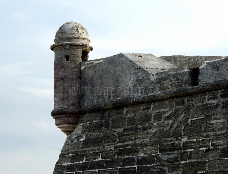 Castillo San Marcos royaltyfri bild