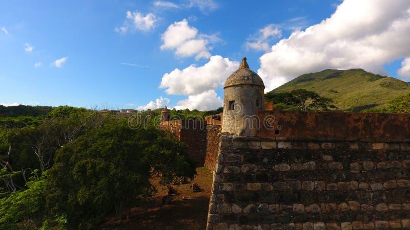 Castillo Santa Rosa stock images