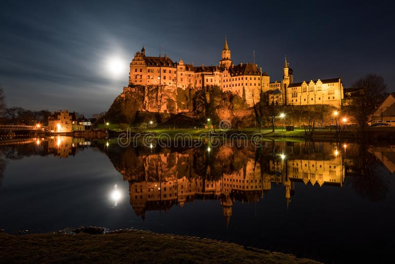 Castillo Sigmaringen imagen de archivo