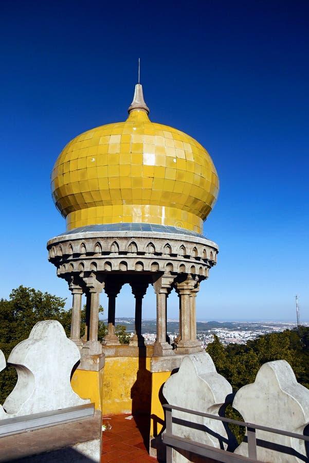 Castillo Sintra, Portugal de Pena fotos de archivo libres de regalías