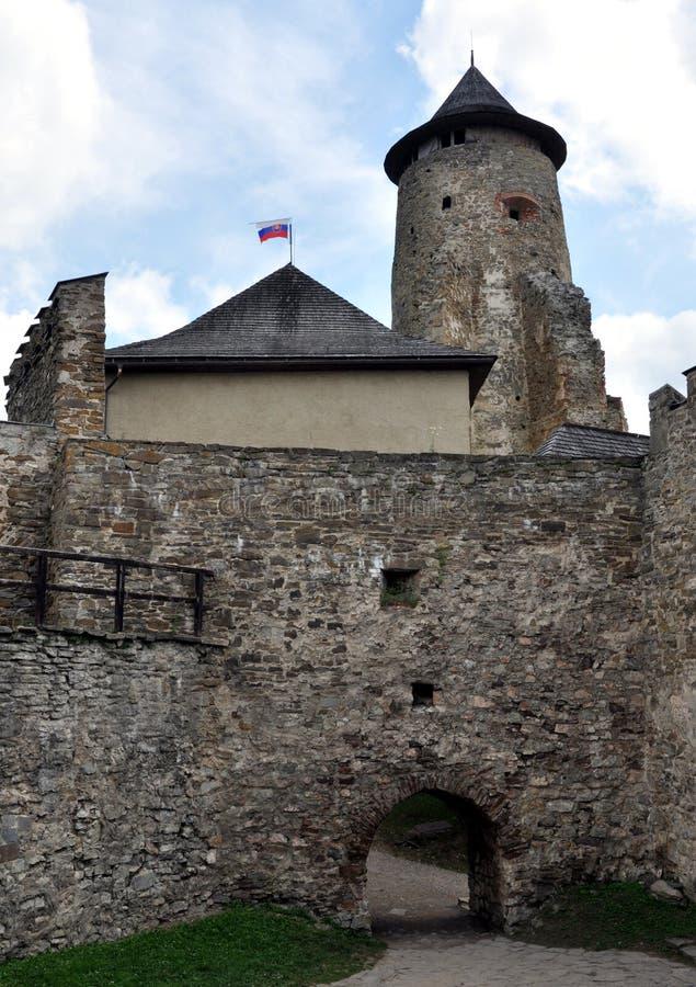 Castillo Stara Lubovna, Eslovaquia, Europa fotos de archivo