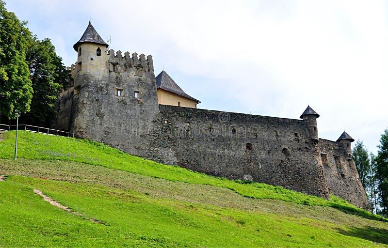 Castillo, Stara Lubovna, Eslovaquia, Europa imágenes de archivo libres de regalías