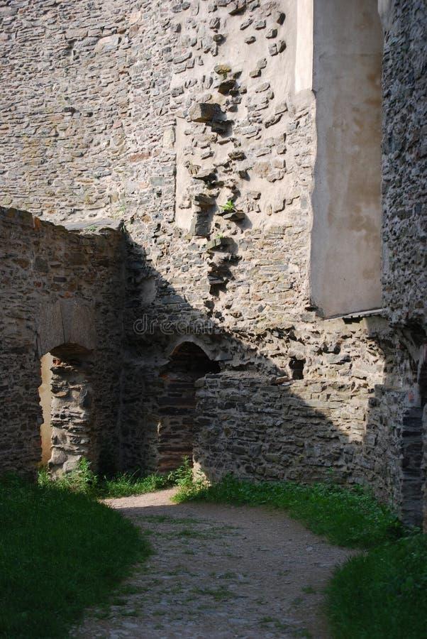 Castillo Svojanov, República Checa imagen de archivo libre de regalías