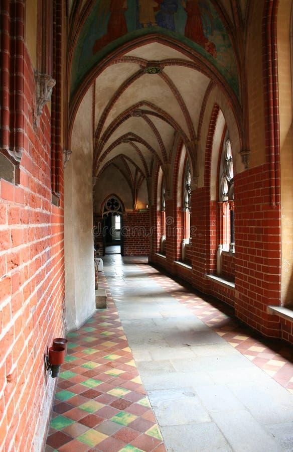 Castillo teutónico de los caballeros fotos de archivo libres de regalías
