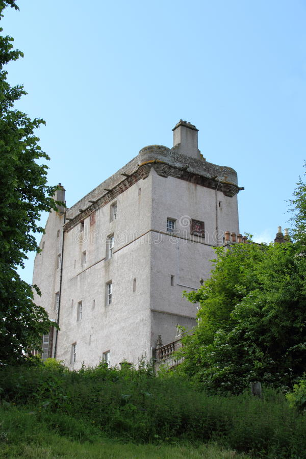 Castillo Turriff Aberdeenshire Escocia Reino Unido de Dalgatie fotografía de archivo libre de regalías