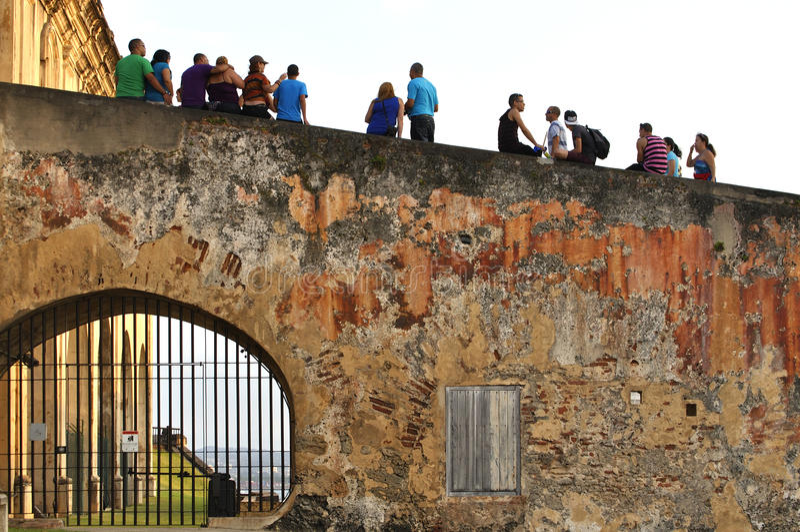 Castillo van San Juan stock foto's