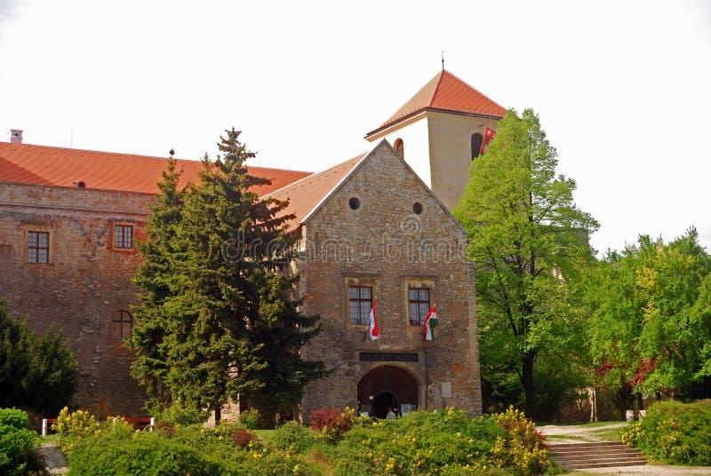 Castillo, Varpalota, Hungría fotografía de archivo