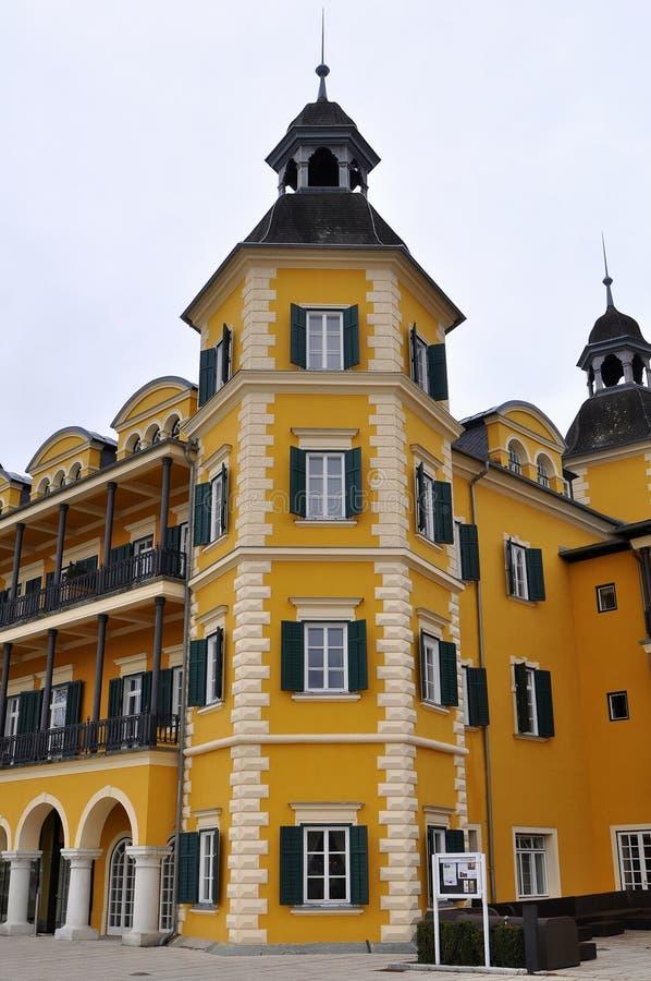 Castillo Velden, Austria, Europa fotografía de archivo libre de regalías