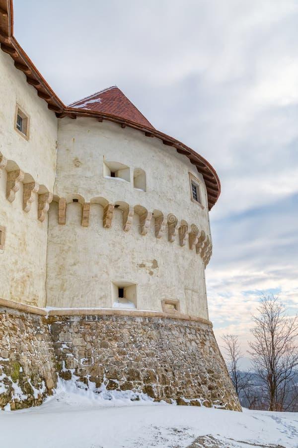 Castillo Veliki Tabor en Croacia fotografía de archivo libre de regalías