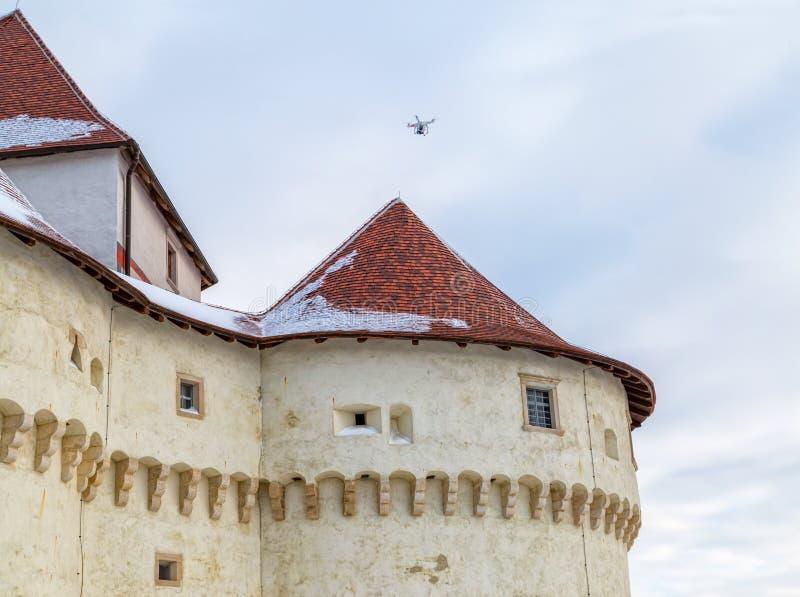 Castillo Veliki Tabor en Croacia fotos de archivo libres de regalías