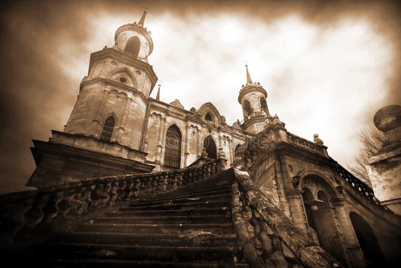 Castillo viejo clásico fotografía de archivo