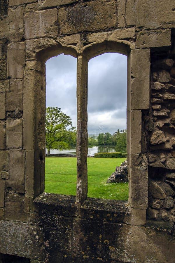 Castillo viejo de Wardour, Wardour, Wiltshire, Inglaterra foto de archivo libre de regalías
