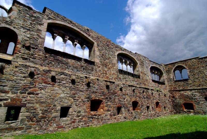 Castillo viejo en Cheb imagen de archivo libre de regalías