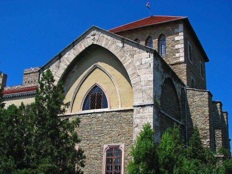 Castillo viejo en Hungría foto de archivo