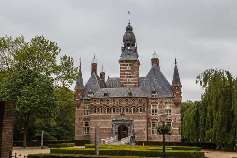 Castillo viejo en la ciudad de Wijchen fotos de archivo libres de regalías