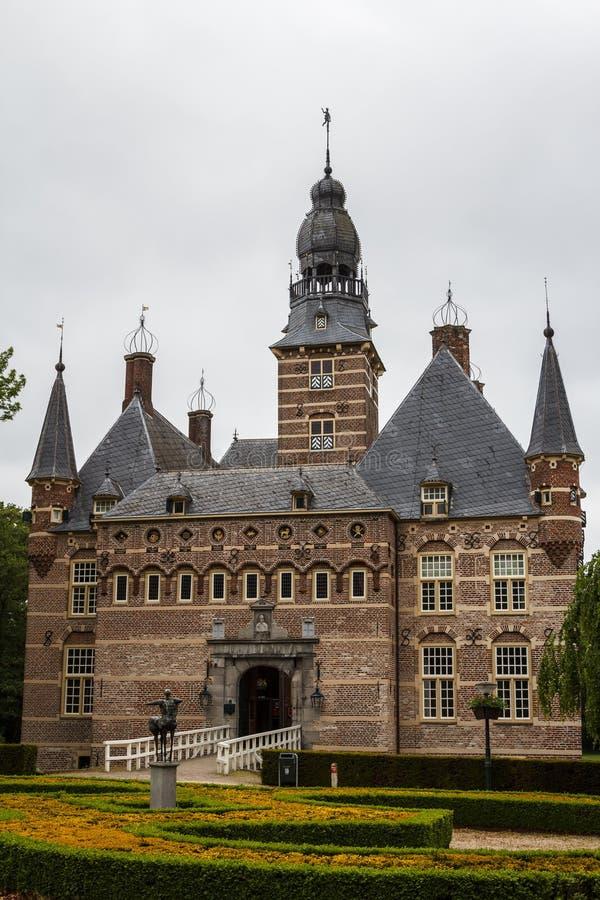 Castillo viejo en la ciudad de Wijchen fotografía de archivo