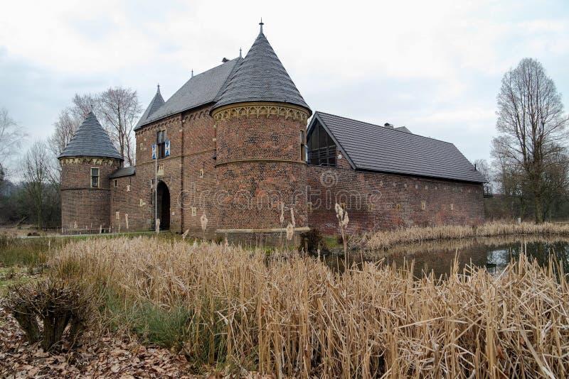 Castillo Vondern - Oberhausen - Alemania imágenes de archivo libres de regalías