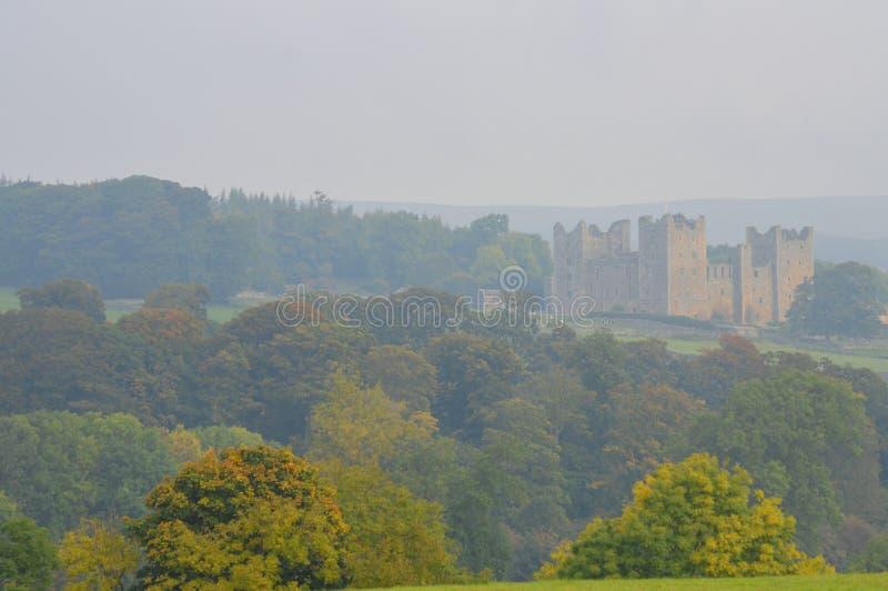 Castillo Wensleydale de Bolton imagenes de archivo