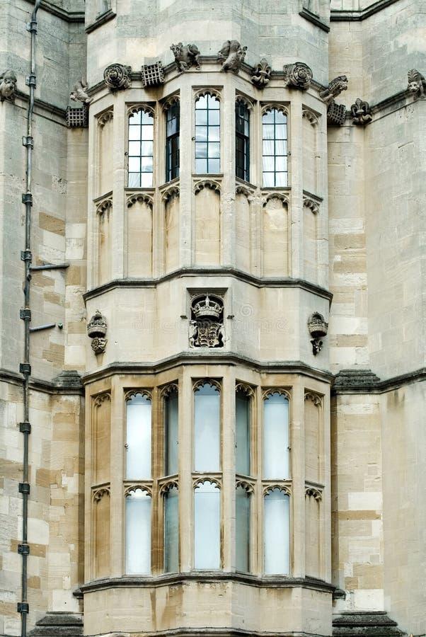 Castillo Windows foto de archivo libre de regalías