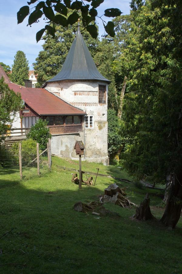 Castillo Wolfegg, pueblo Wolfegg, Alemania imágenes de archivo libres de regalías