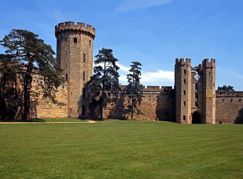 Castillo y argumentos, Warwick, Inglaterra. fotografía de archivo libre de regalías