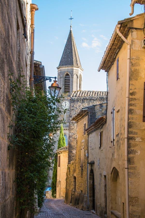 Castillon du Gard, Francia imagenes de archivo