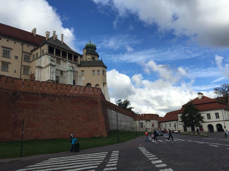 Castillos de Kraków imagen de archivo