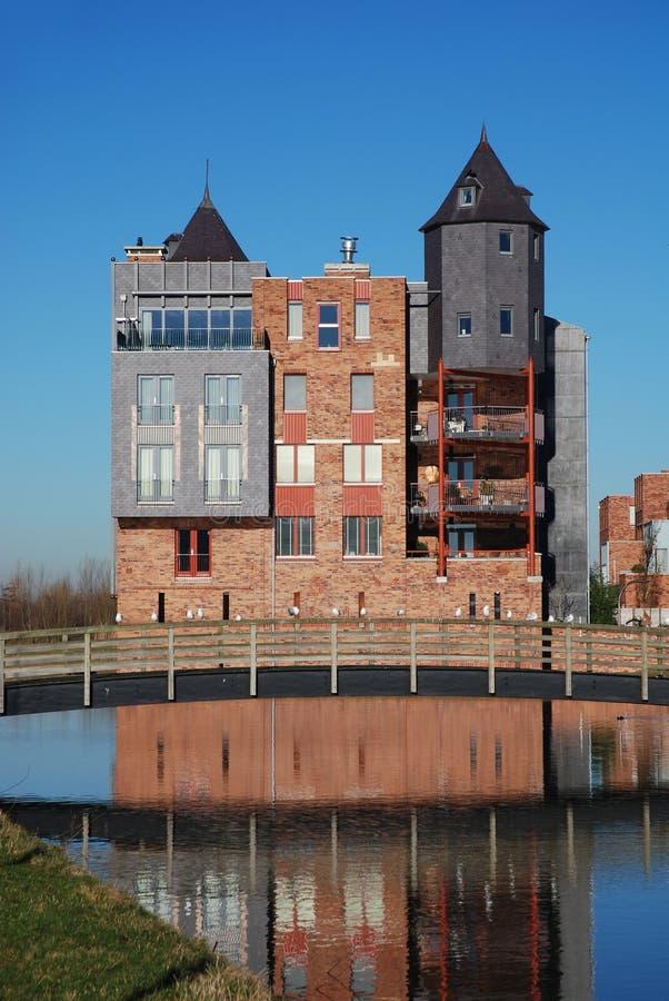 Castillos modernos de Haverleij 3 fotos de archivo libres de regalías