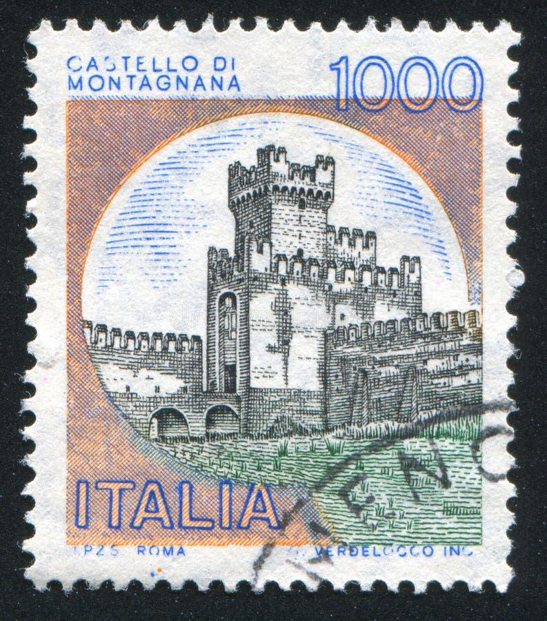 Castillos Montagnana fotografía de archivo