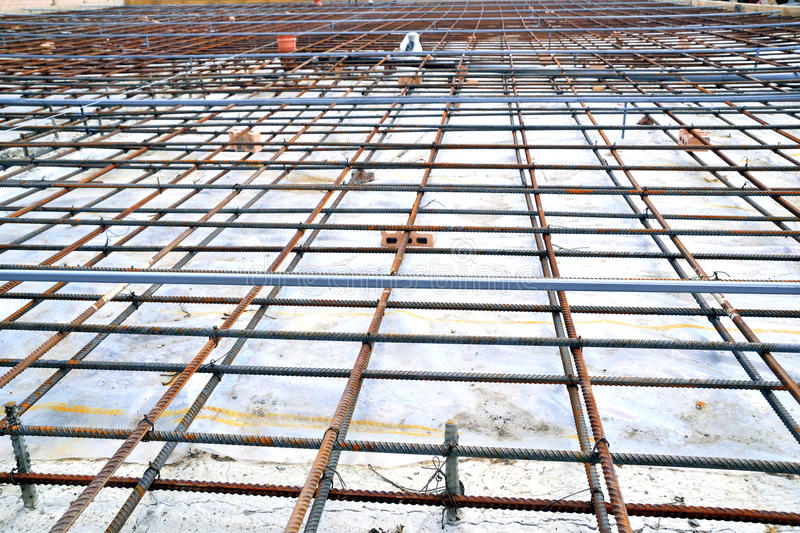 Download Casting Of The Concrete Floors Stock Image - Image: 33474801