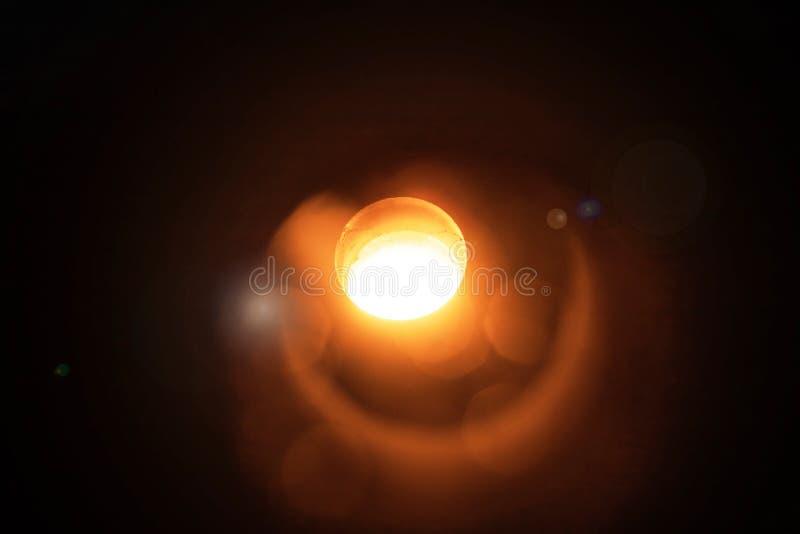 Casting. Production of aluminium. Melting furnace on a black background. Aluminium foundry. Orange bright molten steel. stock images