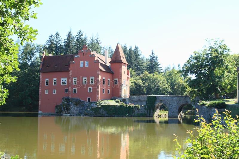 Castle Äervenà ¡ Lhota στοκ φωτογραφίες με δικαίωμα ελεύθερης χρήσης