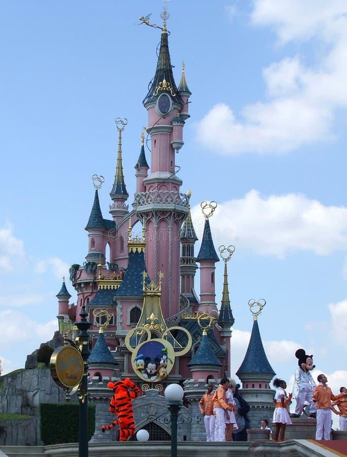 Castle σε Disneyland Παρίσι στοκ φωτογραφία