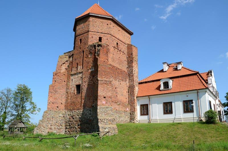 Castle σε Liw, Πολωνία στοκ φωτογραφίες