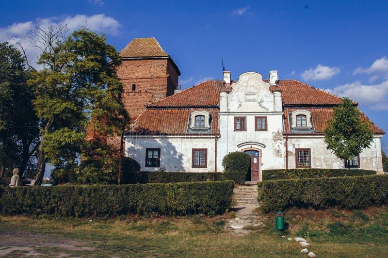 Castle σε Liw στοκ φωτογραφία με δικαίωμα ελεύθερης χρήσης