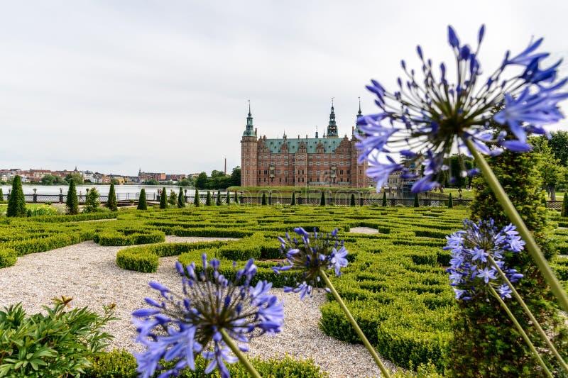 Castle της Δανίας Frederiksborg στοκ εικόνες