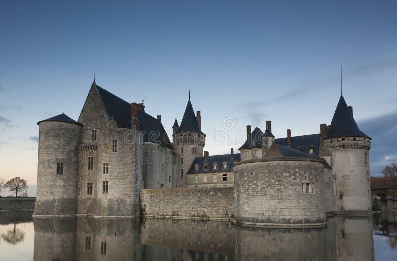 Castle της κηλίδα-Sur-Loire, Loiret στοκ φωτογραφίες