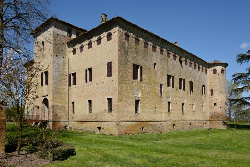 Castle του SAN Pietro Cerro στοκ φωτογραφία