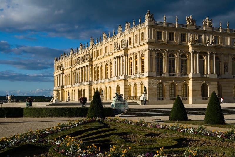 Castle των Βερσαλλιών στοκ εικόνα