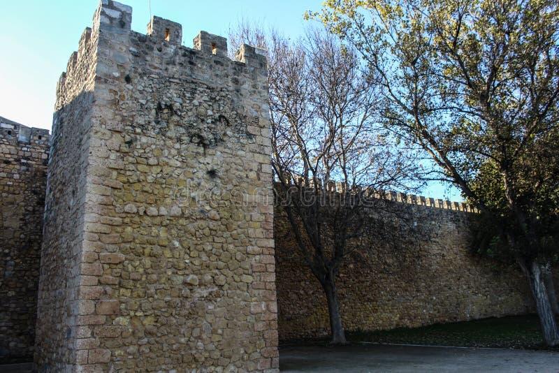 Castle των κυβερνητών, πόλη του Λάγκος στην Πορτογαλία στοκ φωτογραφία