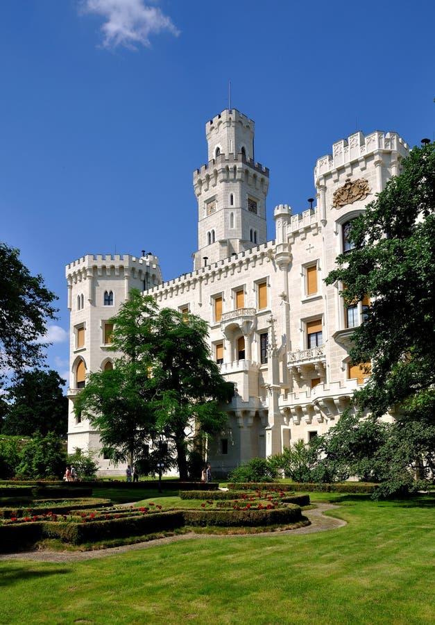 Download Castle stock photo. Image of garden, hluboka, mountain - 15060222