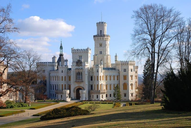 Castle. Hluboka nad Vltavou, Czech Republic stock image