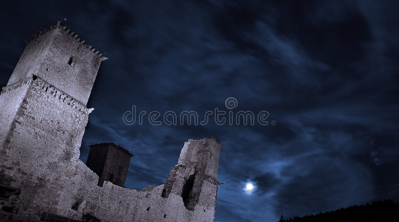 Castle 3. royalty free stock image