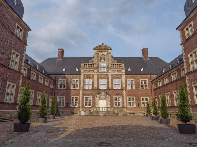 The castle of ahaus in germany. The Castle of Ahaus in the German muensterland royalty free stock photography