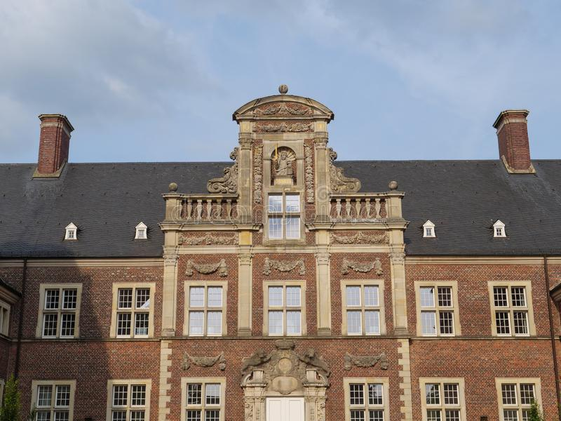 The castle of ahaus in germany. The Castle of Ahaus in the German muensterland royalty free stock photo