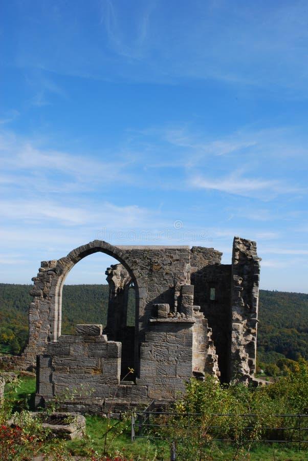 Castle altenstein ruin