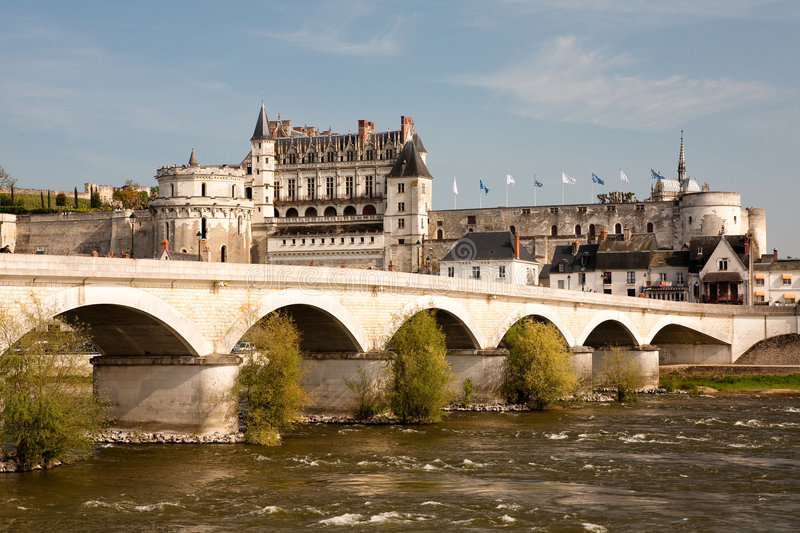 Download Castle of Amboise stock photo. Image of france, architecture - 9206392
