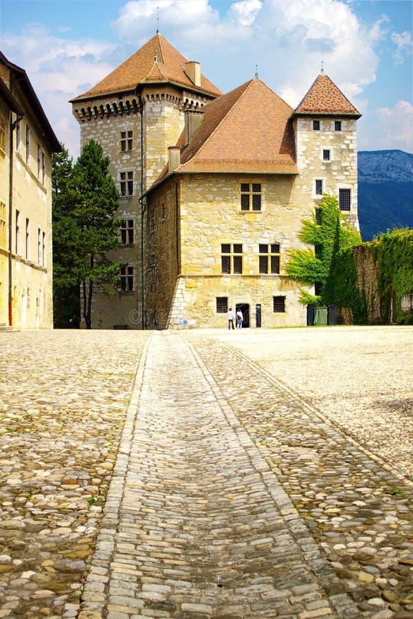 Free Castle. Annesy, France Stock Photos - 14557243